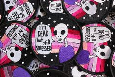 Stressed Skeleton Patch