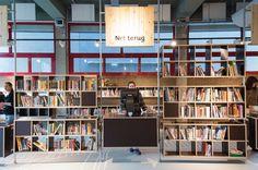 De Chocoladefabriek – Gouda | Hanratharchitect Gouda, Rotterdam, Shelving, Bookcase, Restaurant, Desk, Furniture, Home Decor, Shelves