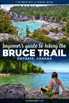 The Bruce Trail is an Ontario icon & the trail can be tricky at times. Here are my tips for hiking the Bruce Trail to ensure a safe & fun adventure in Canada! Travel Photographie, Ontario Travel, Toronto Travel, Canada Destinations, Canadian Travel, Visit Canada, Canada Canada, Best Hikes, Travel Posters