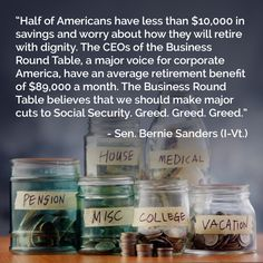 Greedy Rich Republicans.. Out to STEAL PEOPLE'S EARNED Social Security BENEFITS!