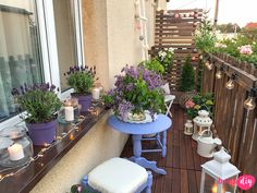Metamorfoza balkonu przed i po