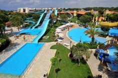 Kids would LOVE this. Gloria Golf, Belek, Turkey. Kids pools, kids clubs and mini cinema. There's also a spa, water park and two golf courses. Let's go! #familyholidays #travel #kids