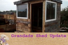 Purple Sweet Pea Episode 38 Allotment Shed Update
