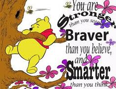 you are braver - Pooh