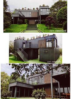 Shipping containers 335799715969943652 - Container House – China – Container Hacker Source by Building A Container Home, Container Cabin, Storage Container Homes, Container Buildings, Container Architecture, Architecture Old, Sustainable Architecture, Container Home Plans, Cargo Container
