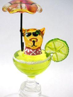 Chihuahua in Margarita Glass Wine Stopper Cork New Lime Umbrella Glitter Salt Yurana http://www.amazon.com/dp/B00U0V17ME/ref=cm_sw_r_pi_dp_y2eRvb1JT1F5W