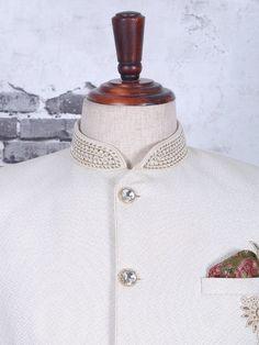 Shop Terry rayon wedding cream jodhpuri suit online from India. Latest Mens Suit Designs, Latest Suit Design, Prince Suit, Buy Suits, Wedding Dress Men, Designer Suits For Men, Men Online, Mens Suits, Bespoke