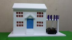 Noel 2015 on Pinterest | Glitter Houses, Paper Models and Paper Houses