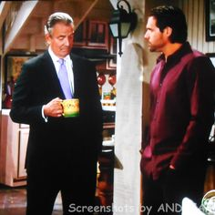 Victor tells Nick that he'll try and shield him and Christian from the bad press....however, Sharon might be another story.