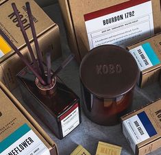 Stockholm, Silk Road, Packaging, Bourbon, Spices, Candles, Pure Products, Pantone, Man