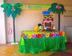 Imagen relacionada Luau Pool Parties, Luau Theme Party, Aloha Party, Party Fiesta, Hawaiian Luau Party, Moana Birthday Party, Hawaiian Birthday, Moana Party, Luau Birthday