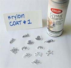 Tips for sealing shrinky dinks
