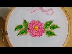 Embroidery Machine Software Silk Ribbon Embroidery Designs And Techniques Hand Embroidery Flowers, Simple Embroidery, Silk Ribbon Embroidery, Hand Embroidery Patterns, Cross Stitch Embroidery, Embroidery Thread, Hardanger Embroidery, Embroidered Flowers, Embroidery Stitches Tutorial