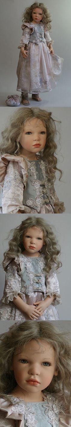 "Zawieruszynski - ""Liliana"" - 2012  33 inches tall Vinyl Doll - LE"