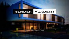 Render Academy - Render post production with Photoshop Landscape Architecture, Landscape Design, Photoshop Course, Adobe Photoshop, 3ds Max Tutorials, Interior Design Guide, Exterior Rendering, 3d Architectural Visualization, Arquitetura
