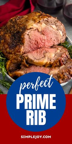 Prime Rib Dinner, Prime Rib Roast, Roast Beef, Rib Recipes, Roast Recipes, Cooking Recipes, Dinner Recipes, Rib Roast Recipe, Filet Mignon