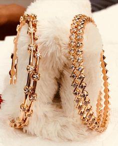 30 Ideas jewerly bracelets bangles accessories for 2019 The Bangles, Silver Bracelets, Bangle Bracelets, Silver Rings, Bracelets Design, Gold Bangles Design, Bracelets En Argent Sterling, Sterling Silver Jewelry, Gold Armband