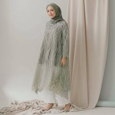 Womens Fashion Dresses Formal Gowns 28 Ideas For 2019 Dress Brokat Muslim, Dress Brokat Modern, Kebaya Muslim, Muslim Dress, Model Kebaya Brokat Modern, Kebaya Lace, Kebaya Dress, Kebaya Hijab, Hijab Dress Party