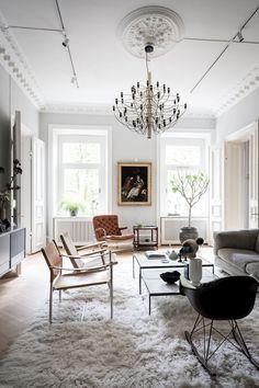 🔔 95 elegant interior design of the living room 4 My Living Room, Interior Design Living Room, Living Room Designs, Living Room Decor, Interior Livingroom, Design Bedroom, Small Living, Modern Living, Kitchen Interior