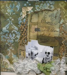 Latest Shabby Chic layout taught at the Scrap Yard
