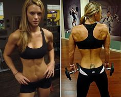 Tabitha Klausen-Leandri sample workout/eating plan.