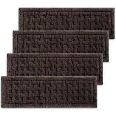 Best Extra Long 48 Stair Treads Rubber Back Brown Outdoor Set 640 x 480
