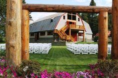 Pine River Ranch Wedding Ceremony Reception Venue Washington