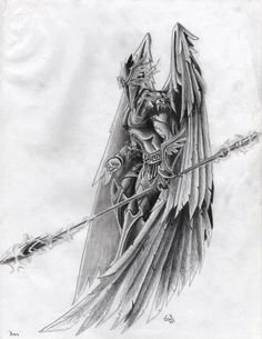 Greek: Ares the Olympian god of war and better known for bloodlust, slaughter and savage war. Roman: Mars the god of war and agriculture. Wolf Tattoos Men, God Tattoos, Warrior Tattoos, Badass Tattoos, Angel Warrior Tattoo, Egyptian Tattoo Sleeve, Leg Sleeve Tattoo, Family Tattoo Designs, Angel Tattoo Designs