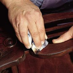Our simple 3-step process for fixing gouges, nicks and dings will have your furniture looking flawless in no time! | Photo: William Wright | thisoldhouse.com