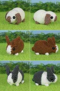 Baby Bunnies 2 Expansion Pack crochet pattern by PlanetJune Found@: http://planetjune.com/shop/index.php?main_page=product_info&cPath=11_33&products_id=257