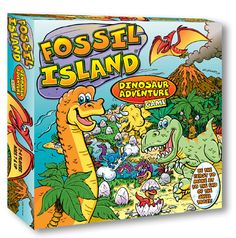 Dinosaur themed math facts board game for the family. Sand Game, Game Prices, The End Game, Board Games For Kids, Math Facts, Family Games, Deck Of Cards, Fossil, Gifts For Kids