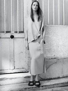Poetic Justice.  J.W. Anderson shirt, $825, and skirt, $650, Dover Street Market New York, (646) 837-7750. Repossi cuff,
