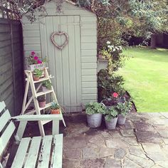 Small garden design 426927239676672744 - Beautiful Small Cottage Garden Design Ideas 190 – GooDSGN Source by Small Cottage Garden Ideas, Small Garden Design, Garden Cottage, Small Back Garden Ideas, Small Garden Inspiration, Small Garden Ideas With Summer House, Small Garden With Shed, Colourful Garden Ideas, Allotment Ideas Inspiration