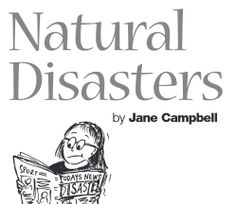 Natural Disasters unit of work - science focus - middle primary level