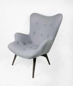 Paddington Lounge Chair - Gray, I am intrigued by this shape!