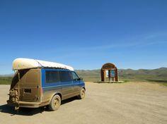 Astro Van at Arctic Circle dirty