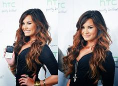 love this ombre...sorry im not sorry ive already pinned 800 demi lovato hair pics