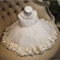 Aliexpress.com: Comprar Real fotos vestido de bola de Tulle perla florista vestidos para bodas 2015 vestidos primera comunión vestidos del desfile de Vestidos de Damita de Honor fiable proveedores en M&D Manufactory