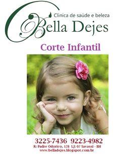 Bella Dejes: Corte Masculino Feminino e Infantil. Marque agora ...