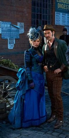 The costumes in Ripper Street were amazing and could influence a whole new line in miniature making for me!