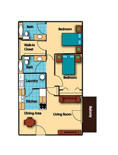 Check out Legacy Parke's SPACIOUS 2 Bedroom floor plan!    Legacyparke.com