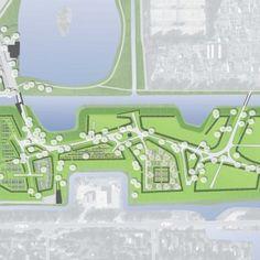 Karres en Brands landscape architecture cemetery Langedijk Plan Drawing