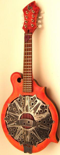 Ron Hyde Resonator Mandolin #LardysWishlists #Mandolin ~ https://www.pinterest.com/lardyfatboy/ ~