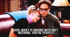 Animated gif shared by stéphanie sousa. Find images and videos about love, gif and the big bang theory on We Heart It - the app to get lost in what you love. Big Bang Theory, Leonard And Penny, I'm Chuck Bass, Still Love Her, 1 Gif, Pep Talks, Hilarious, Funny, Hopeless Romantic