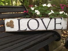 Hey, I found this really awesome Etsy listing at https://www.etsy.com/listing/163697121/lovely-handmade-pallet-love-sign-with