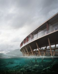 Gallery of Snøhetta Designs Energy-Positive Lakeside Hotel in the Arctic Circle - 2