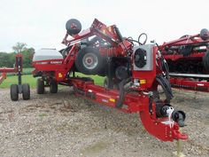 16 row CaseIH 1245 corn planter