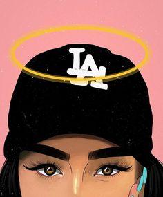 54 Ideas Wallpaper Iphone Trippy Supreme For 2019 Black Girl Cartoon, Black Girl Art, Black Women Art, Art Girl, Arte Dope, Dope Art, Wallpaper Fofos, Trill Art, Black Art Pictures