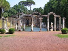 Villa Adriana, Tivoli, Rome