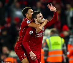 Andy Robertson and Trent Alexander-Arnold are arguably the most crucial attacking players Liverpool Anfield, Liverpool Players, Liverpool Football Club, Steve Bruce, Liverpool Transfer, Alexander Arnold, Brendan Rodgers, Transfer Window, League Gaming